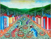 Little Village (Belle Ville) by Harry Jean