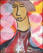 Un Femme Effrayee  by Lesly Cetout