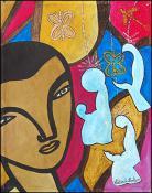 Les Trois Mages by Lesly Cetout