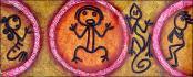 Taino Circles #1 by B. Kico
