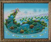 Les Flamants Rose & le Duck  by Francois Ismorin