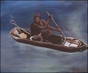 Le Canot D'esclave by Lesly Cetout