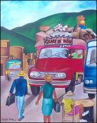 La Station de Bus by Lesly Cetout