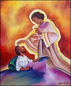 L'Aparition de L'ange a Joseph by Lesly Cetout