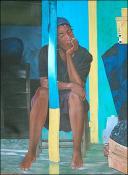 La Marchande Ensomeillee by Hugh Michel Berrouet