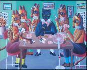 Poker Night by Fritz Merise
