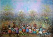 Village Market by Watson Etienne