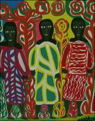 Three Ladies by Magda Magloire