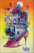 Woman Shoe City by Elio Villate Lam
