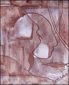 Faces 2 by Lesly Cetout