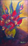 Roses and Glads by Patricia Brintle