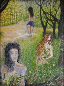 Women in the Forest 2 by Isidoro  Tejeda