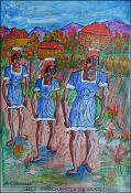Des Marchandes re Vendeuses by Gervais Emmanuel Ducasse