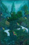 Green Birds by Gerald Plaisimond