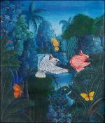 Birds and Butterflies by Gerald Plaisimond