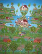 Imaginary Village by Jacques Lafontant