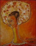 Tete de femme by Patrick Gerald Wah