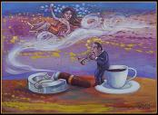 Coffee & Smoke (Cafe y Huma) (Series Musicians) by Armando Tejuca