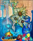 Sunflowers for Oshun (Girasoles para Oshun)  by Alberto Pujol