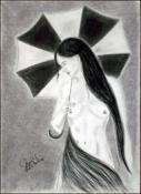 Desnudo con Sombrilla by Jenizbel Pujol Jova