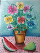 Flores, Melon y Guayaba by Jorge Tejeda