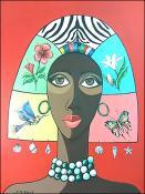 Woman Tropical 2 by Jorge Tejeda