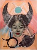 Zodiac - Taurus by Claude Dambreville