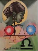 Zodiac - Libra by Claude Dambreville