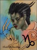 Zodiac - Capricorn by Claude Dambreville