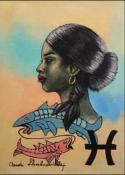 Zodiac - Pisces by Claude Dambreville