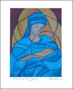 Madonna Full of Grace  by Patricia Brintle