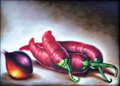 Peppers and Onions by Yoandris Perez Batista
