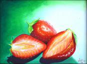 Strawberries by Yoandris Perez Batista