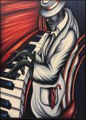 Piano Man - Hombre de Piano by  Rosell