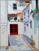 Callejon de la Habana by Isidoro Tejeda