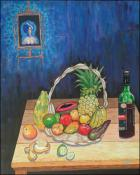 Frutas y Vino by Isidoro Tejeda