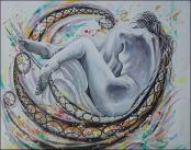 Movimiento de Mujer by Isidoro Tejeda