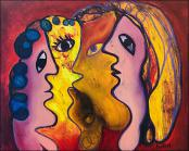 Mujeres (Women) by Jose Fuster